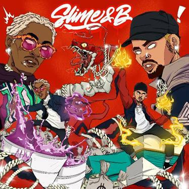 CHRIS BROWN AND YOUNG THUG RELEASE JOINT MIXTAPE 'SLIME & B'