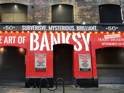 The Art of Bansky comes to London