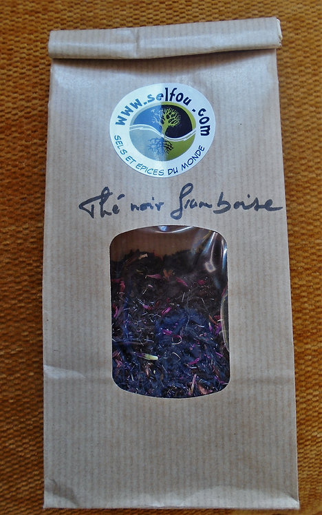 thé noir framboise