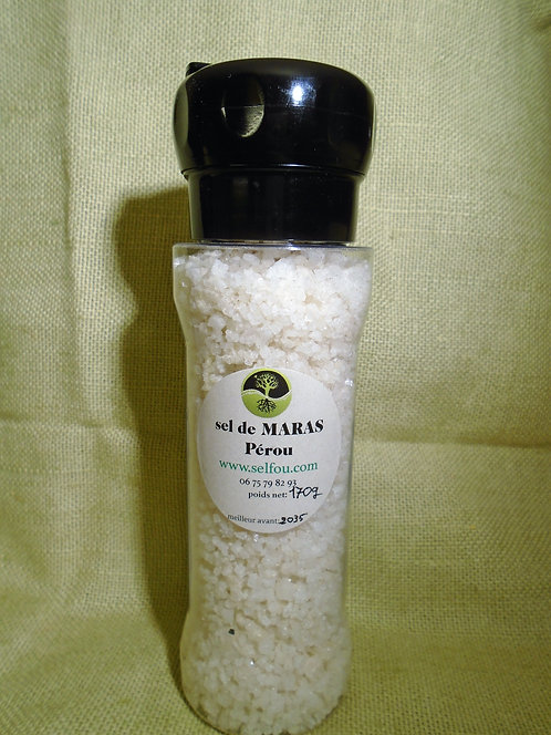 sel de Maras de 70g à 170g