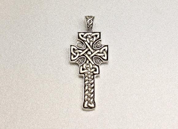 """celtic cross """"fahan Mura"""" in sterling silver"""