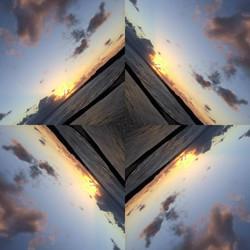 Hawaii sunrise collage