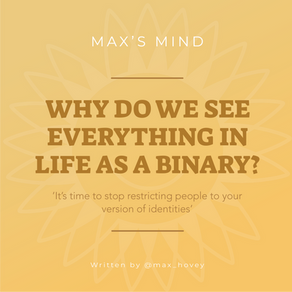 Why Do We See Everything In Life As A Binary?
