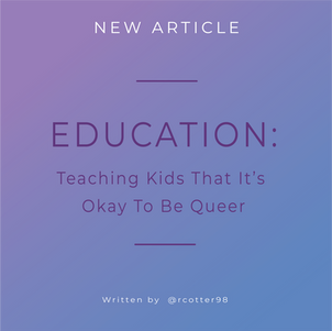 Teaching Kids That It's Ok To Be Queer