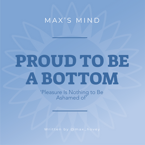 Proud to Be a Bottom