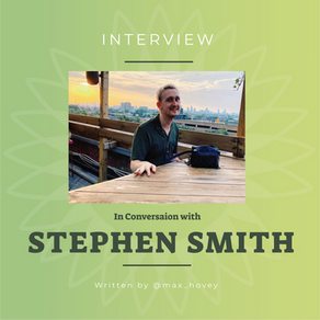 In Conversation with Stephen Smith (A.K.A, Life of a Palsy)