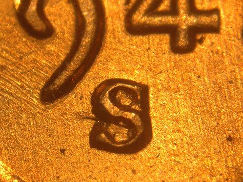 1942-S/S 1c RPM-004 ___RAW__BU RED