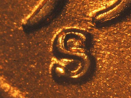 1955-S/S  1c  RPM-003__BU FULL RED__Raw