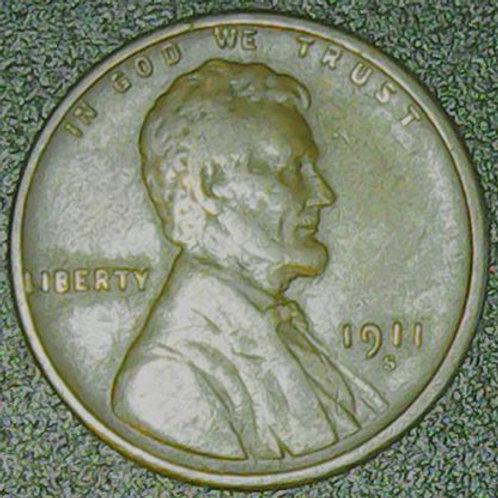 1911-S/S 1c RPM-001 / FS-501 RAW Fine