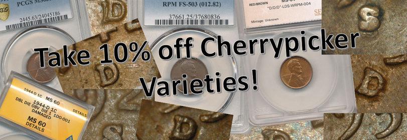 10% off Cherrypicker Varieties