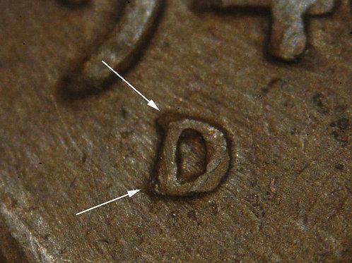1944-D/D 1c  RPM-016 & DDO-010__RAW__FINE