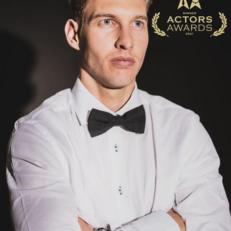 Best Actor Award for Liaan Ferreira