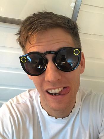Første test av Spectacles til Snapchat