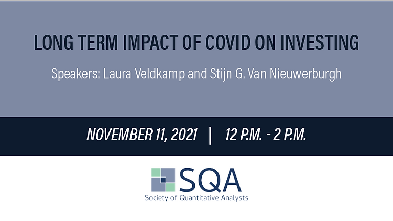 Long Term Impact of COVID on Investing