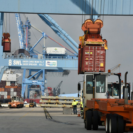 Open for Business: Port of New Orleans Container Vessel Operations Resume After Hurricane Ida, Break