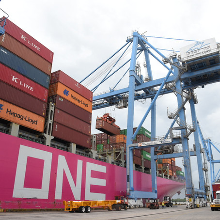ONE MODERN Vessel Launches Port NOLA's Third Direct-Asia Service