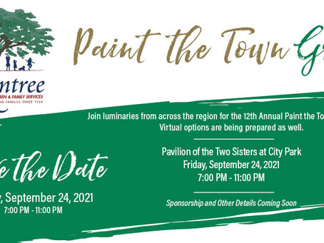 Paint the Town Green Virtual Auction, Wine Pull, & Raffle – August 3 – 7, 2020