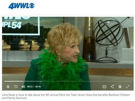 WWL Paint the Town Green Gala