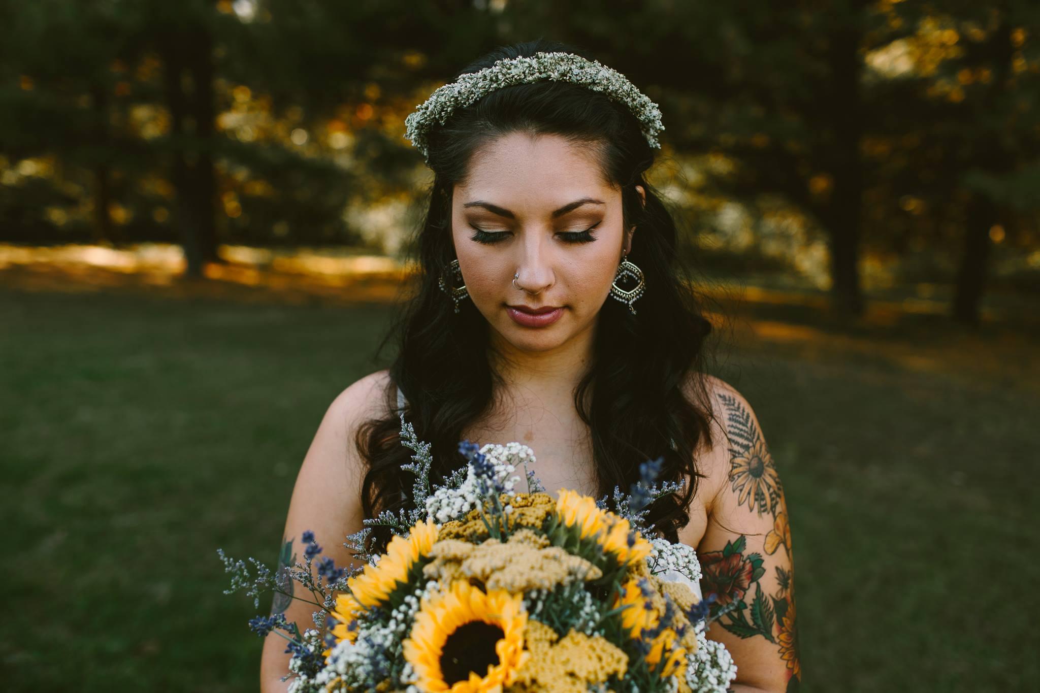 Jennifer's Flower Boutique Wedding