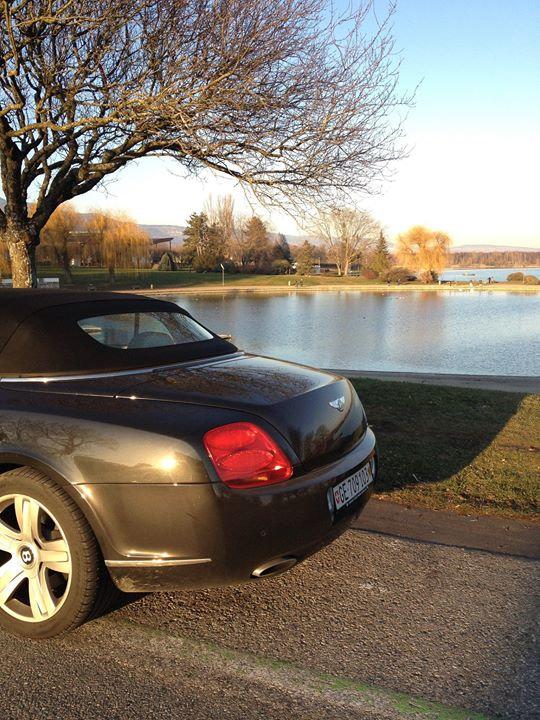 Bentley GTC avec chauffeur