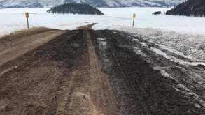 Valles Caldera Main Entrance Road to Close Temporarily Due to Wet and Muddy Conditions