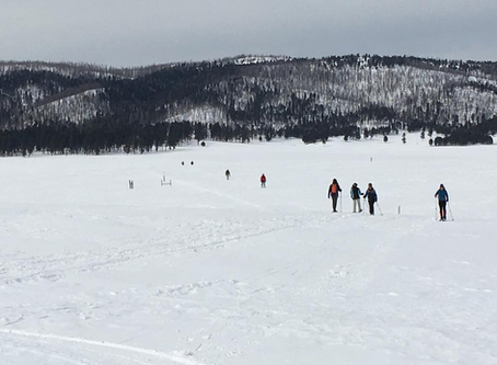 Winter Recreation in Full Swing at Valles Caldera