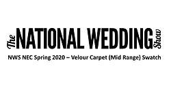 NWS NEC Velour Carpet (Mid Range) Swatch