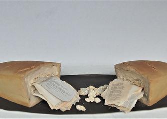 PANE E COMPANATICO, terracotta patinata,
