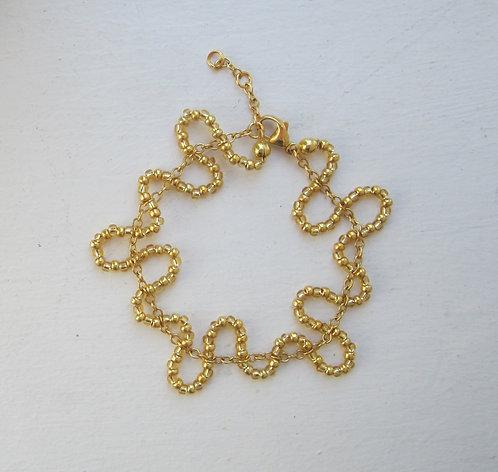 Pearl chain bracelet type 2
