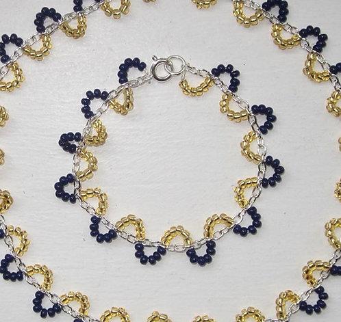 Pearl chain bracelet type 1