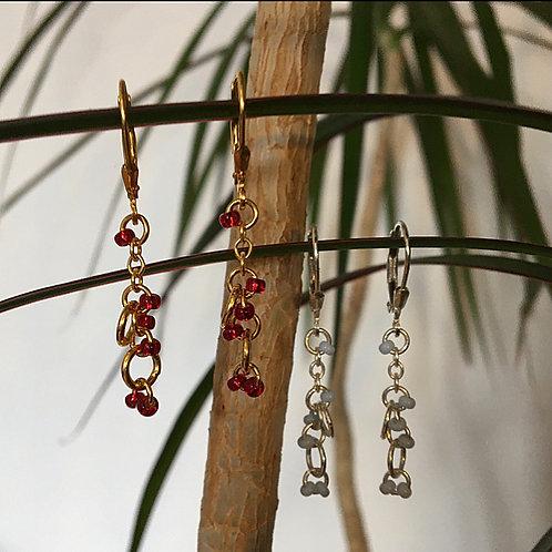 Asymmetry earrings