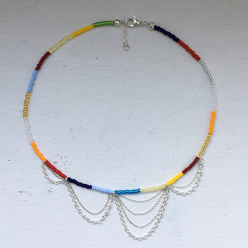 Color chain necklace type 2
