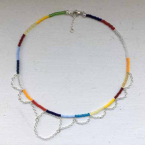 Colorchain necklace type 1