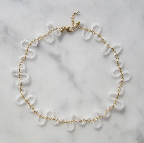Pearl chain necklace type 2