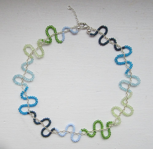 Pearl chain necklace type 2 cold