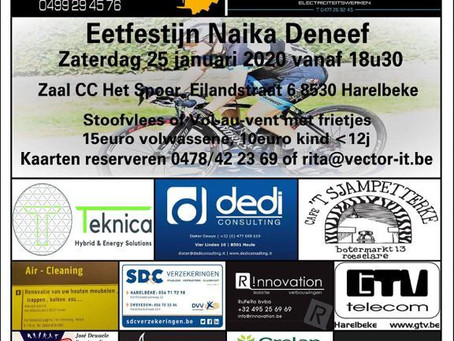 Teknica sponsort wielrenster Naika Deneef.