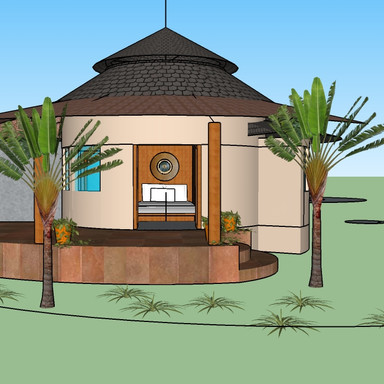 Eco-hut Design for Giving Tree Village