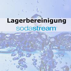 Wassersprudler von SodaStream in Aktion