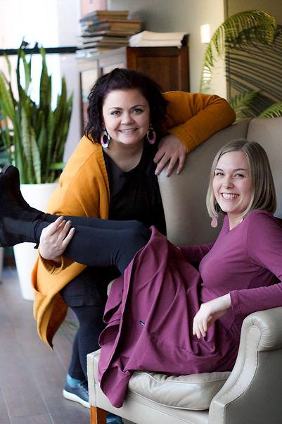 Anni Kervinen ja Silja Soittila yhteiskuvassa