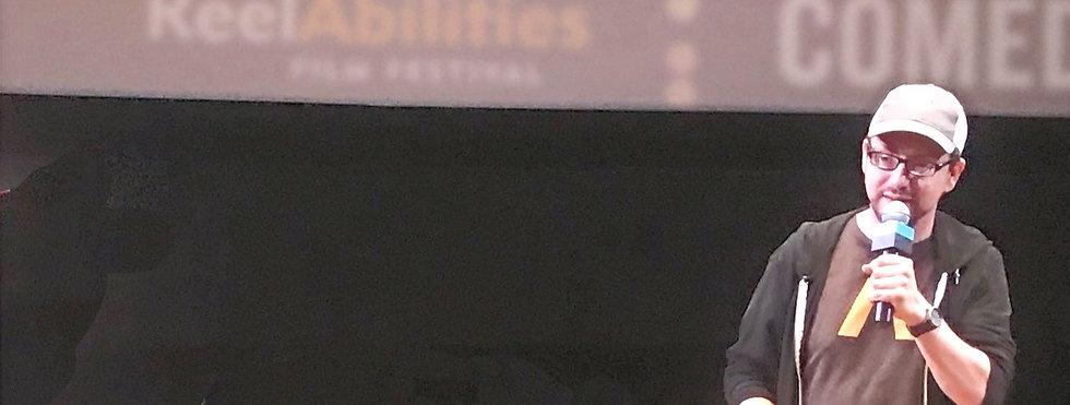 Dan speaking at RAFF 2019
