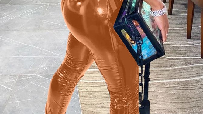 Nikki Leather Pants