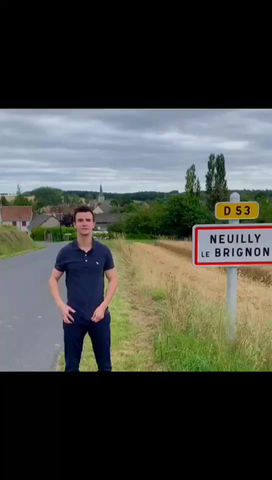 Visit a typical French Village : Neuilly-Le-Brignon