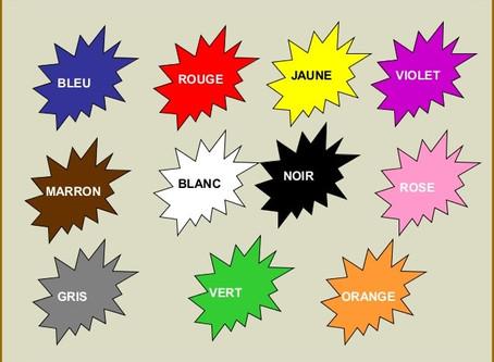 Lesson #9 & #10 : Colors