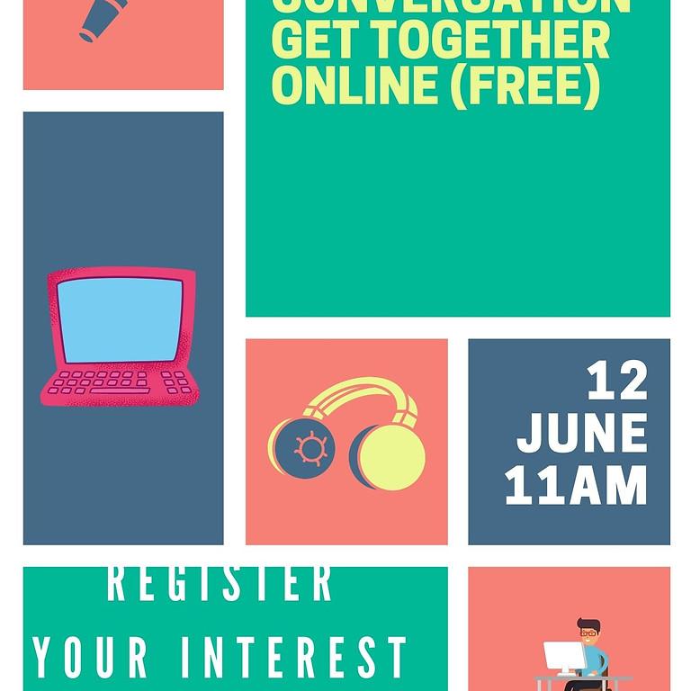 English Conversation Get Together Online