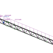 Roof Steel Joist Evaluation
