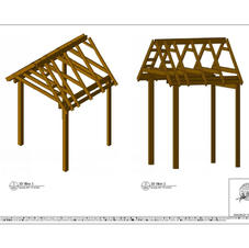 3D Views of the Portico
