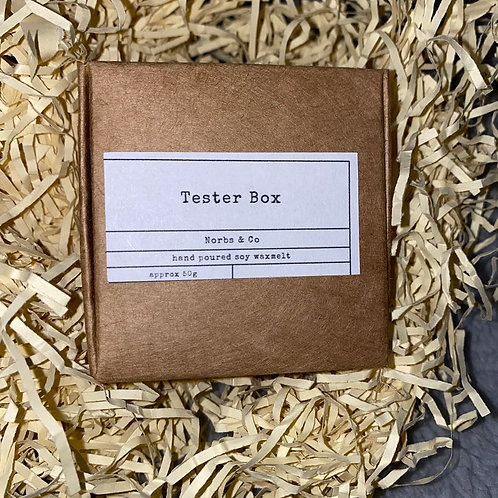 Wax Melt Taster Box Vegan, Natural and Plastic Free