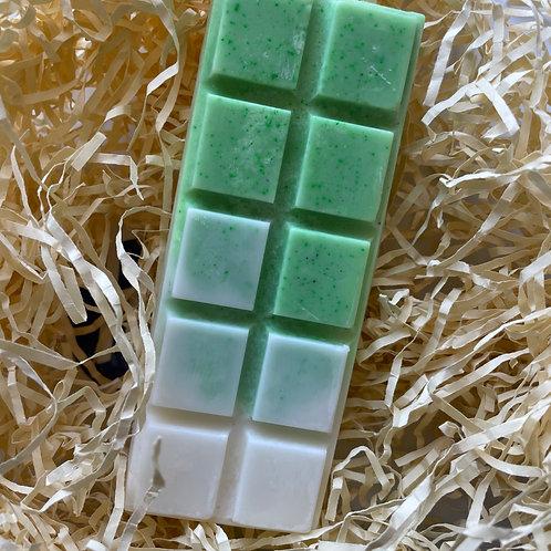Green Tea & Coconut Soy Wax Melt Vegan, Natural and Plastic Free