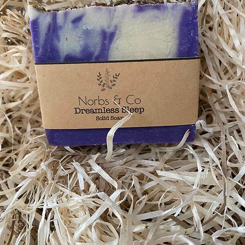 Dreamless Sleep (Lavender) Handmade Soap Vegan, Natural and Plastic Free