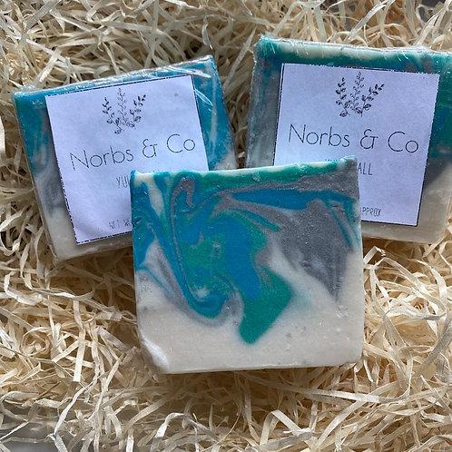 Yule Ball Handmade Soap Vegan, Natural and Plastic Free